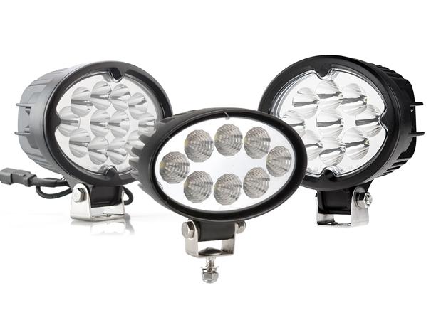 Oval LED Work Lights