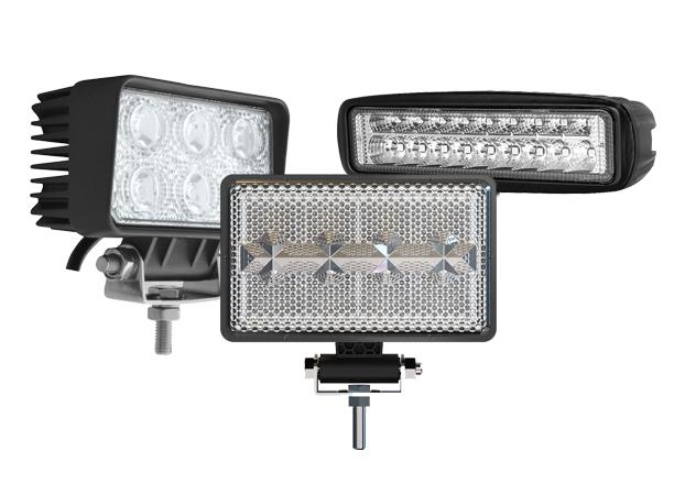 Rectangular LED Work Lights