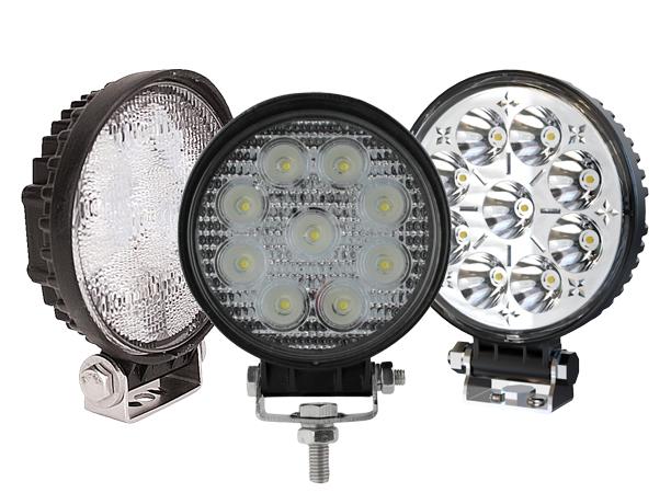 Round LED Work Light