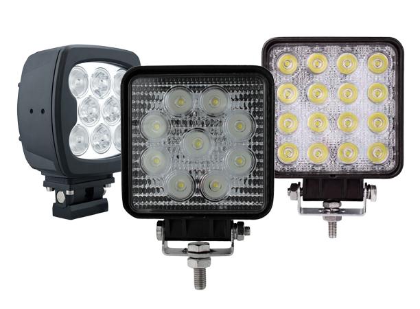 Heavy Duty Truck Square LED Work Lights