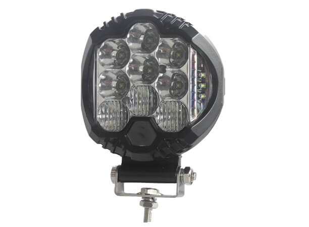 OEM Manufacturing 5 Round LED Driving Light With Side Shooter Combo Beam 2100 Lumens