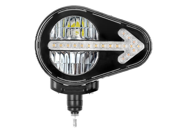OEM Manufacturing 9.3 Inch LED Driving Light Integrates Headlight Indicator lights in one uni ECE Regulation R112