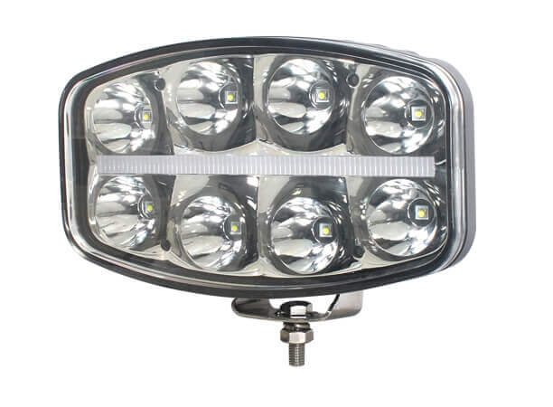 OEM Manufacturing 9.6- Round LED Driving Light With Horizontal Position Light 6500 Lumens