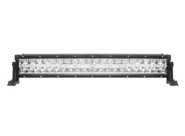 9-32V 20 Inch Double Row Light Bar With Horizontal Accent