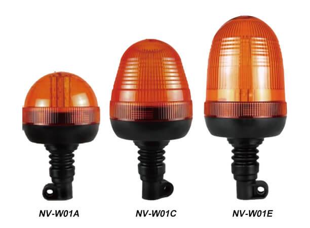 LED Strobe Beacon Lights Flexible Din Mount