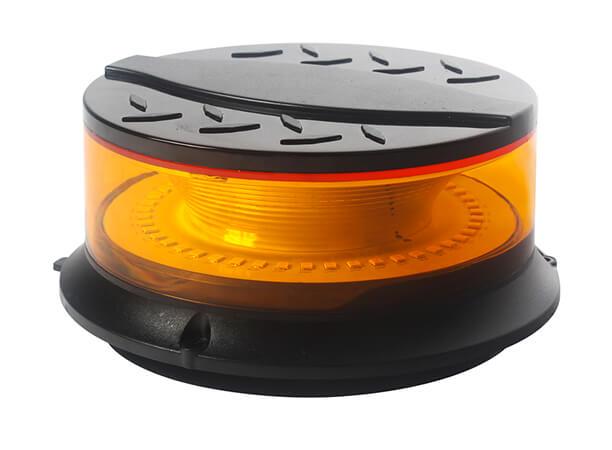 Mini Amber LED Magnetic Strobe Beacon Light