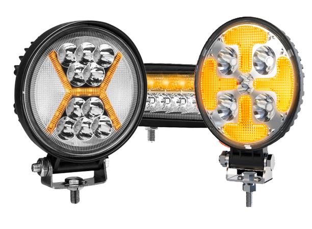 Strobe LED work lights