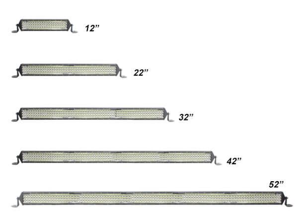 Triple Row LED Light Bar