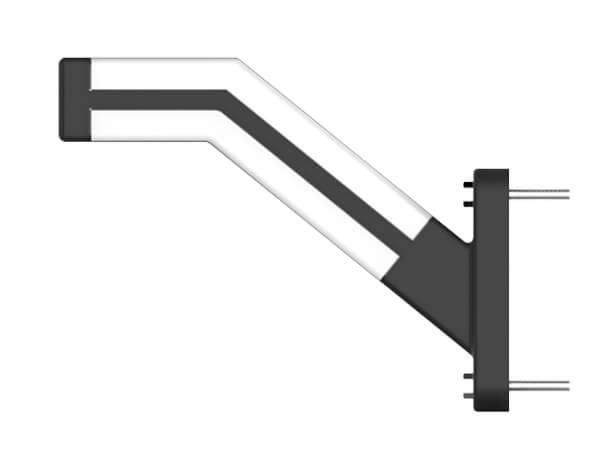 7 inch Stalk Side LED Marker Position Lights