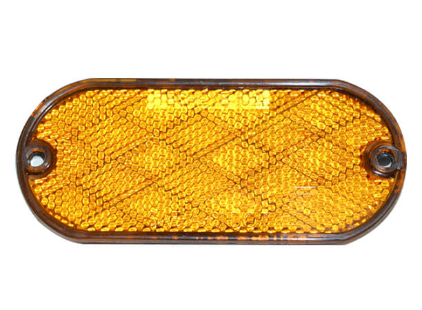 4 inch Amber reflectors for heavy duty trucks and trailer