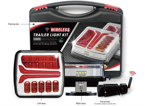 Magnetic Wireless Trailer Lights Kit