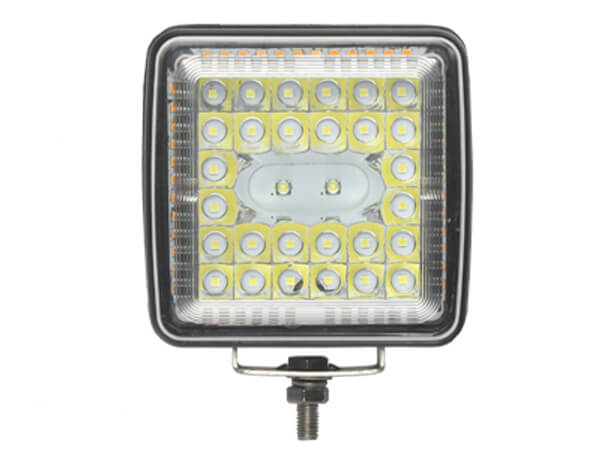 4.5″ Work Light With Amber Side Strobe Combo Beam