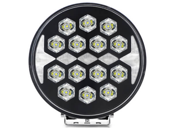 9 Inch high power LED driving light with position light for off road